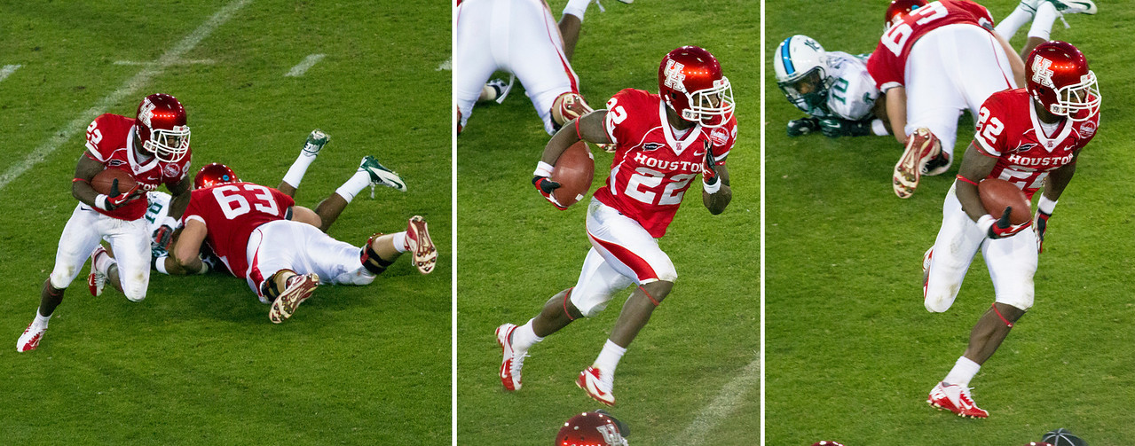 Jackson almost tackled