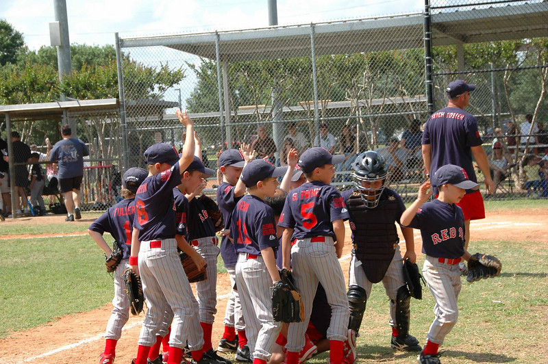 Zac's team, the Red Sox, recently played the final game for the 2008 season. They finished in second place, qualifying for the playoffs. This gallery features photos from the game.