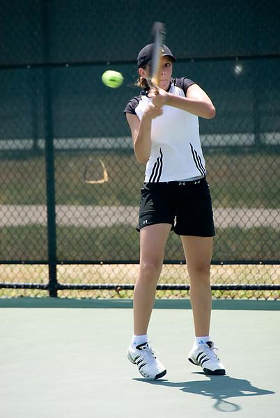MD State Tennis Championship--Lauren Wolman of Walter Johnson HS