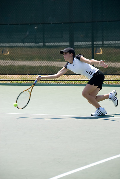 MD State Tennis Championship--Lauren Wolman of Walter Johnson HS