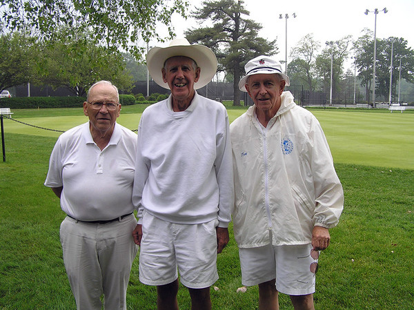 L-R: 2nd place, Dave Henke; 1st place, Barry Gibson; 3rd place Tom Lawlor