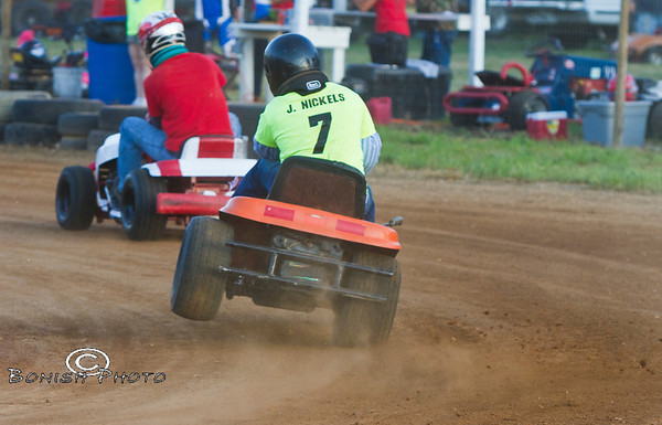 Lawn Mower Races - Arkansas 2012