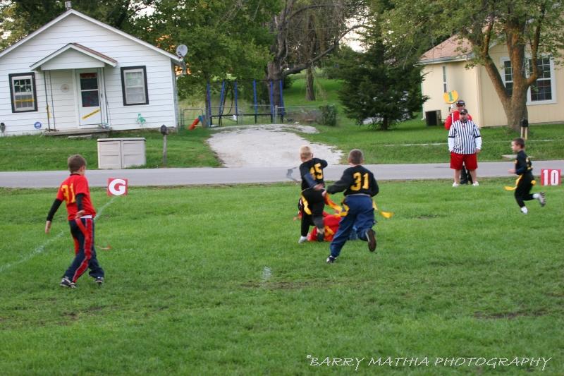 Lawson Flag Football 100605 021