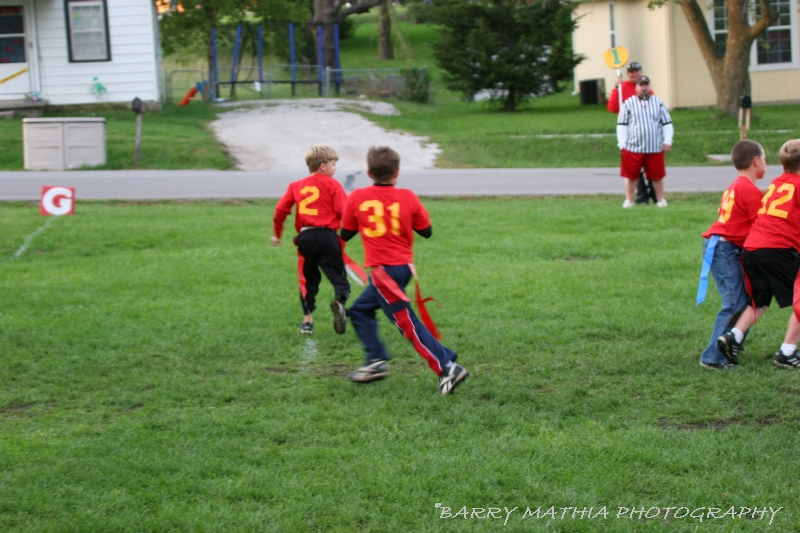Lawson Flag Football 100605 017