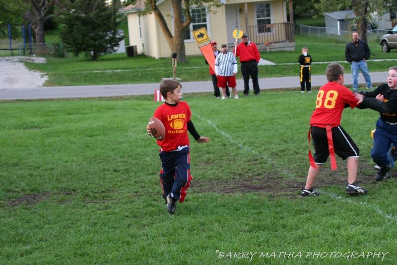 Lawson Flag Football 100605 011