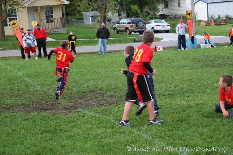 Lawson Flag Football 100605 013