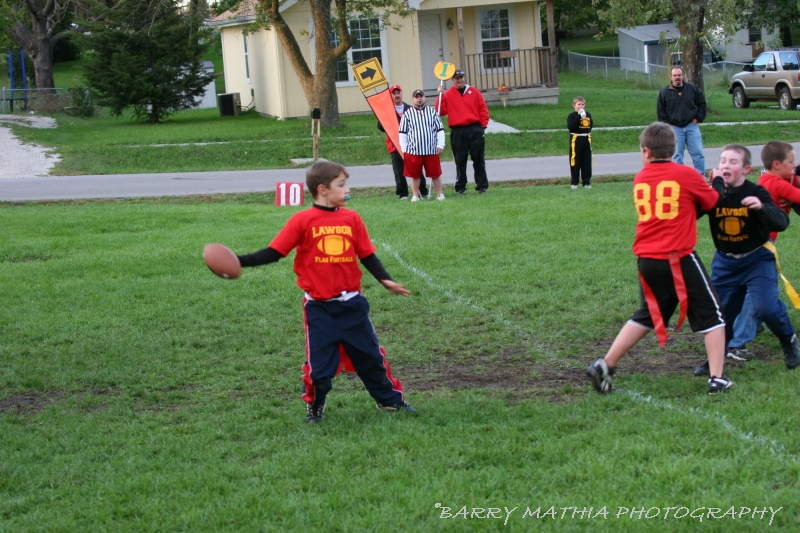Lawson Flag Football 100605 010