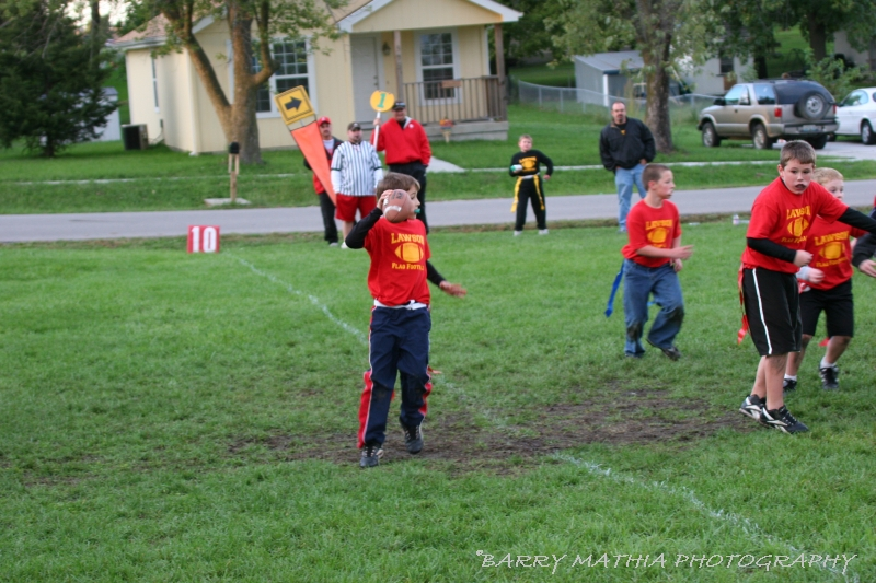 Lawson Flag Football 100605 008