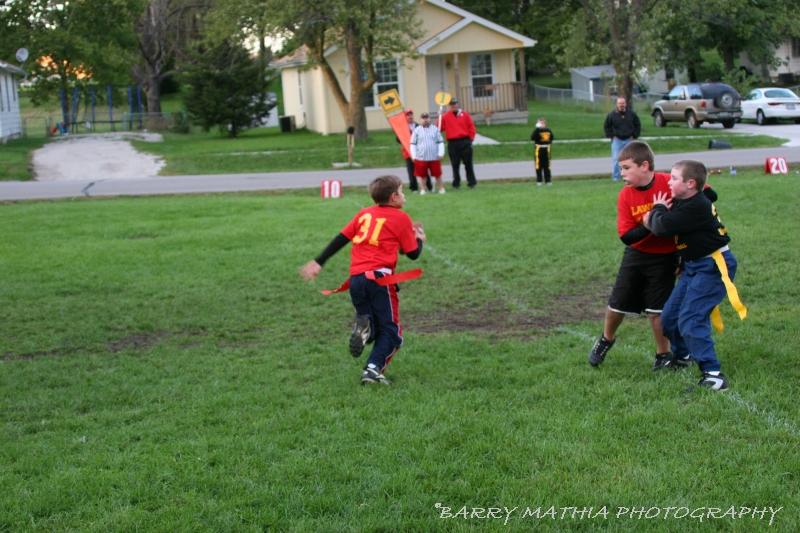 Lawson Flag Football 100605 012