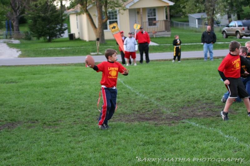 Lawson Flag Football 100605 009