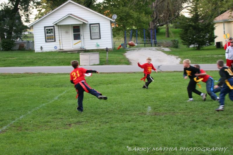 Lawson Flag Football 100605 019