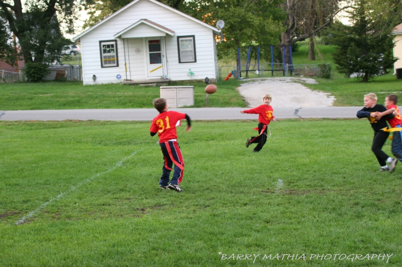 Lawson Flag Football 100605 018