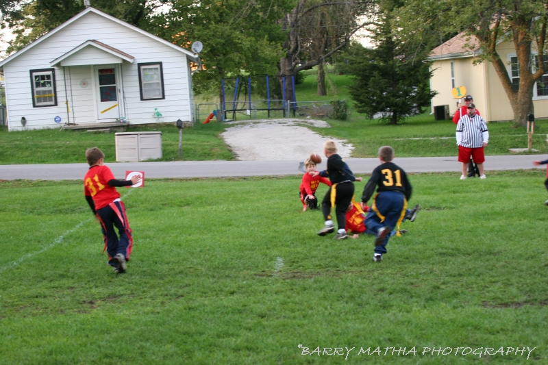 Lawson Flag Football 100605 020