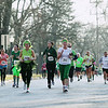 Record-Eagle/Keith King<br /> Runners travel on Sixth Street as they near the finish line on Wadsworth Street Saturday, March 17, 2012 during the 2nd annual Leapin' Leprechaun 5k race in Traverse City.