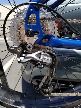 Lectric Cycles E-Rad Origin 8 BBS02, now with new drivetrain