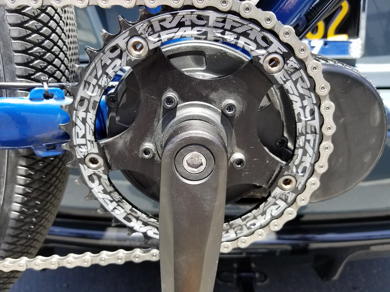 40T X-RACEFACRE-130 mm NARROW-WIDE CHAINRING 130 BCD