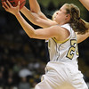 Monarch's Alex Evans goes for a lay-up against Legacy during the Final Four 5A game at the Coors Event Center in Boulder on Wednesday <br /> <br /> <br /> March 10, 2010<br /> Staff photo/David R. Jennings