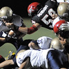 Legacy's Eddie Schroder advances the ball downfield while Fairview's Trevor Schmidt attempt the tackle during Saturday's game at Reicht Field.<br /> October 1, 2011<br /> staff photo/ David R. Jennings