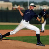 Legacy pitcher Devin Foster pitches during a legion baseball game against  Gershkoff Auto Body's on Wednesday, July 11, at Legacy High School in Broomfield. <br /> Jeremy Papasso/ Boulder Daily Camera
