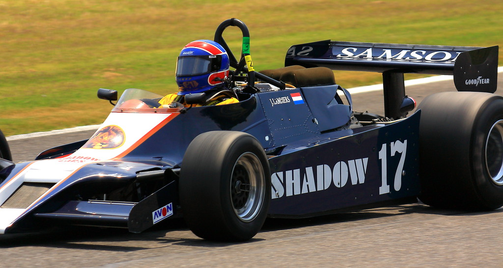 No. 17 1979 Shadow DN9b at Barber Motorsports Park Alabama