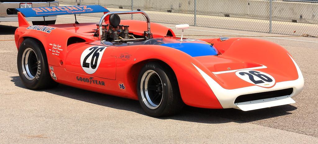1968 Lola T70 Mk3 Spyder