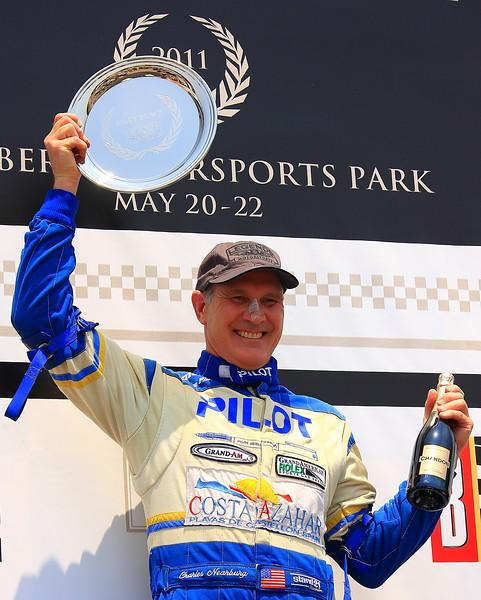 Charles Nearburg on Podium Barber Motorsports Park