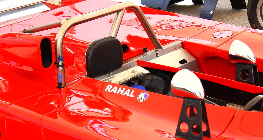 No. 9 Lola Rahal Cockpit