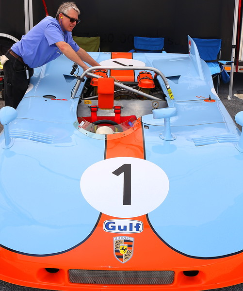 No. 1 1971 Porsche 908-3 Barber Motorsports