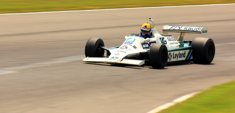 No. 27 Charles Nearburg 1980 Williams FW071B at Barber