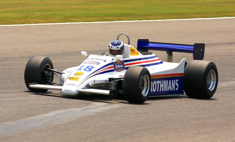 No. 18 1982 March 821-011 at Barber Motorsports Park