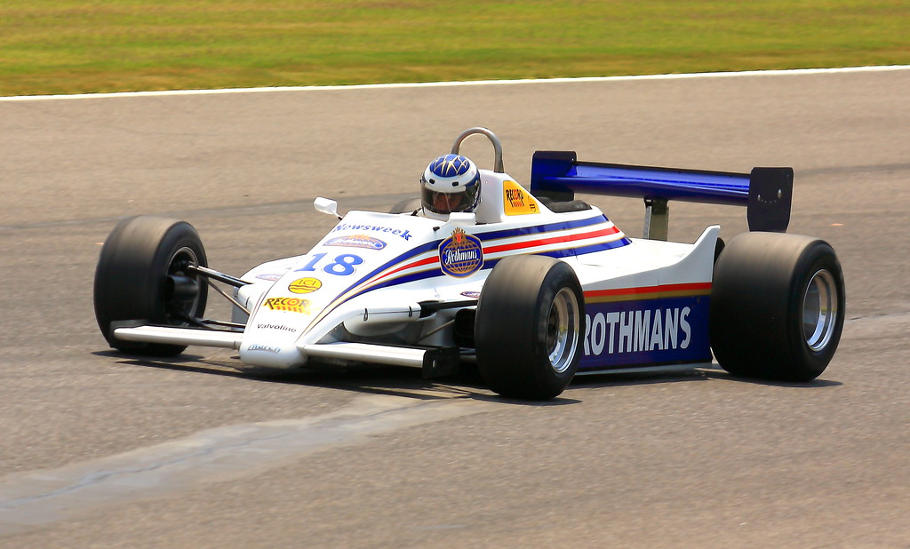 No. 18 1982 March 821-011 at Barber Motorsports Park