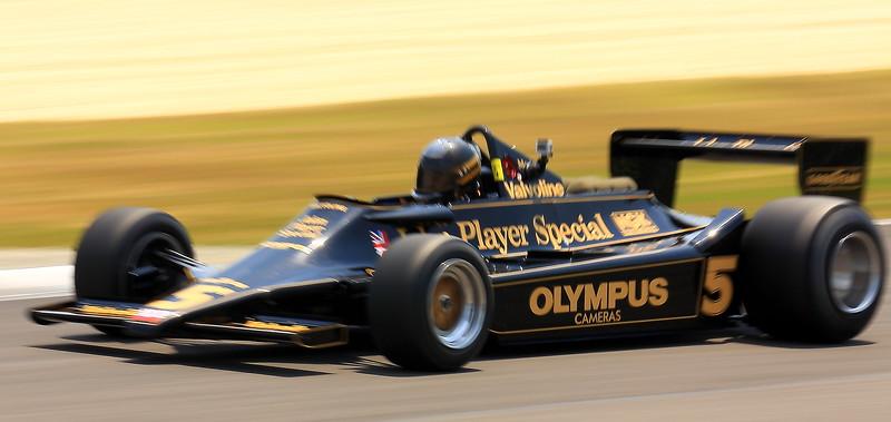 Olympus Cameras No. 5 John Player Special Barber Motorsports Park