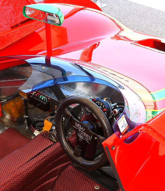 1972 Ferrari 312PB Cockpit
