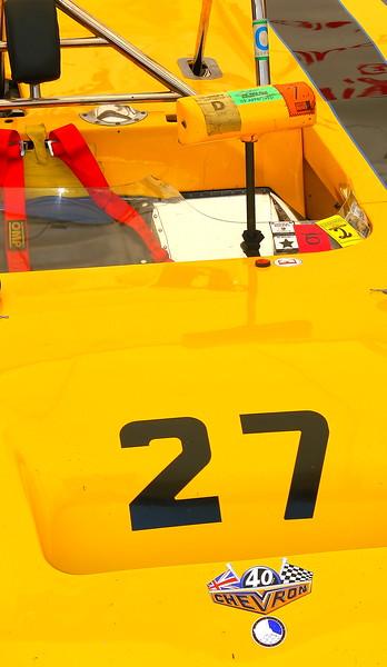 No. 27 1971 Chevron B-19 Legends Barber Motorsports