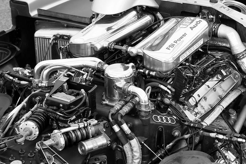 2005 Audi R8 Le Mans Prototype Engine