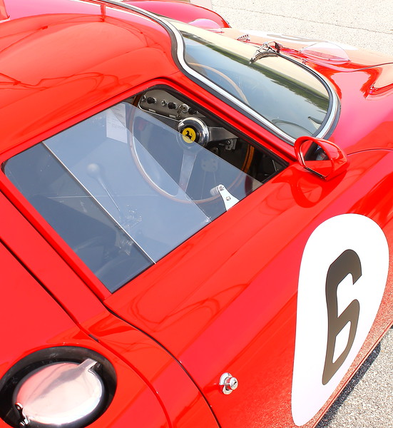 No. 6 1965 Ferrari 250 LM Side Shot Barber Motorsports Park