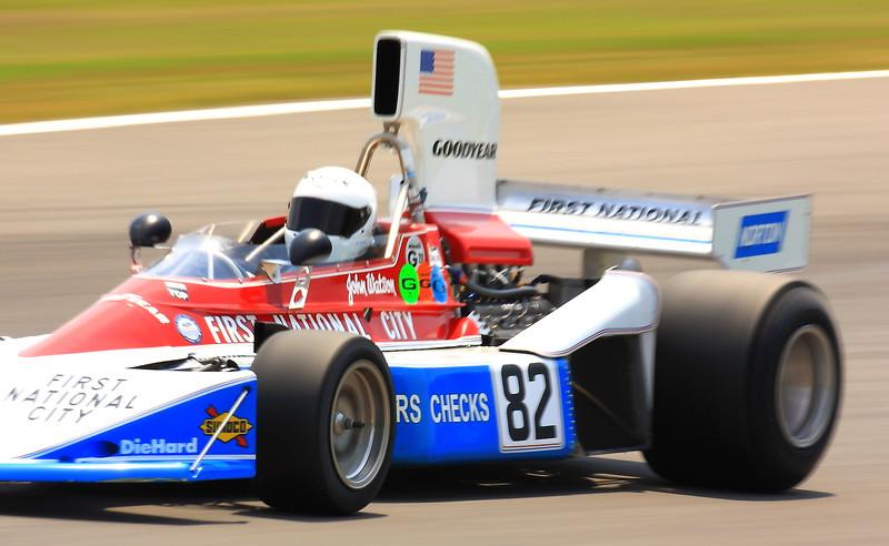 No. 82 Chris Drake 1976 Penske PC3 Barber Motorsports Park