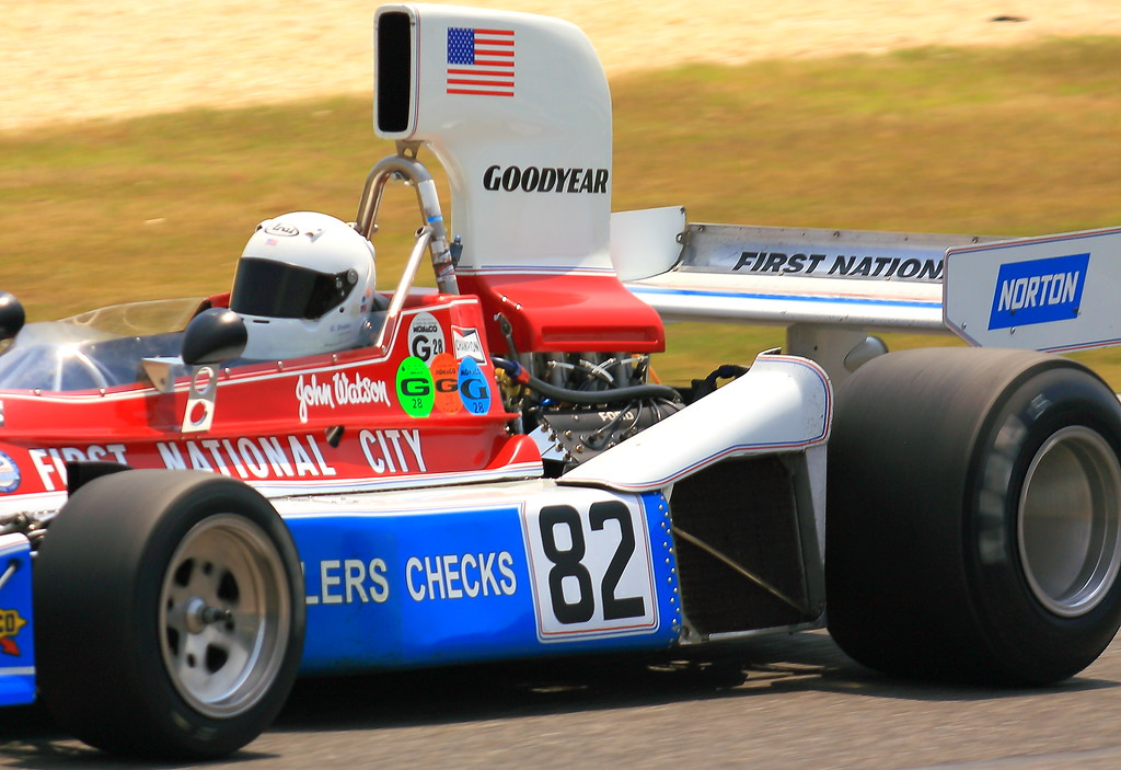 No. 82 1976 Penske PC3 at Barber Motorsports Park Alabama