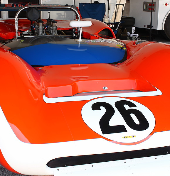 No. 26 Lola Legends Barber Motorsports