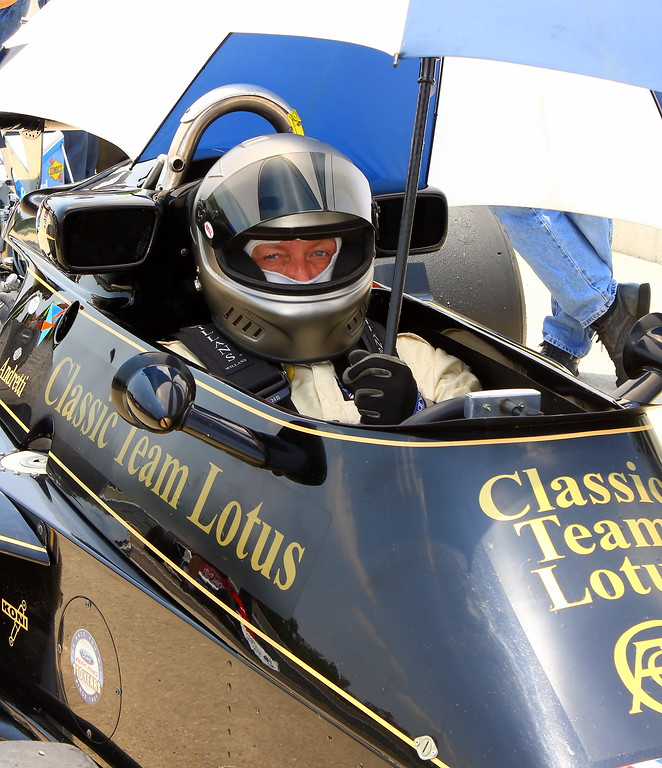 Classic Team Lotus on the Grid Barber Motorsports Park