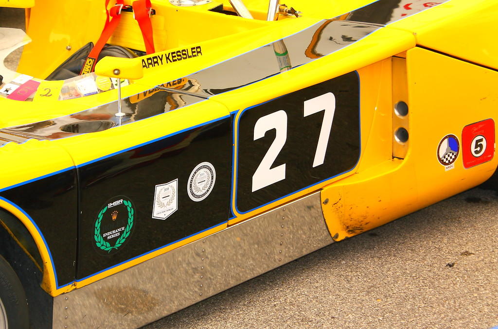 No. 27 1971 Chevron B-19 Barber Motorsports