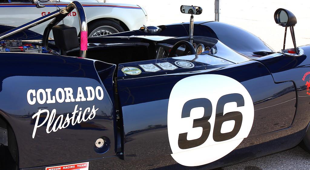 No. 36 1965 Lola T70 Spyder Barber Motorsports