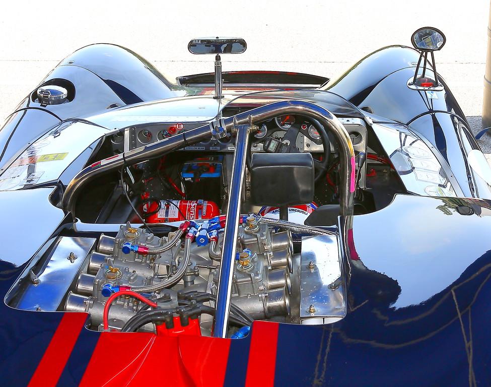 No. 36 1965 Lola T70 Spyder Barber Interior Motorsports