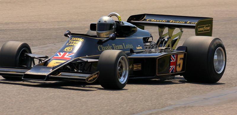 No. 5 1976 Lotus 77 at Barber Motorsports Park Alabama