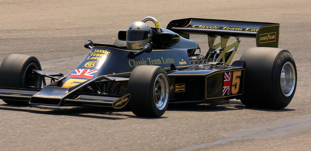 No. 5 1976 Lotus 77 at Barber Motorsports Park Alabama