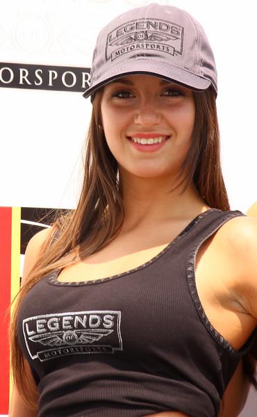Legends of Motorsports Grid - Podium Girl Barber Motorsports Park