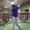 Eddie Cuddahy taking some swings