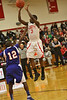 Liberty vs Chester Boys : Liberty defeats Chester 66-38 in non-league game to even their record at 3-3. Eddie Byrd leads all scorers with 18 points as Indians can nine treys on the night.