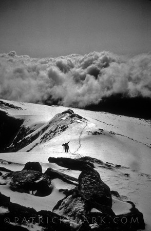 Summiting Trapper Peak, Montana