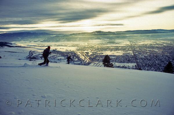 Mt. Sentinal Sunset Shredfest, Missoula,Montana